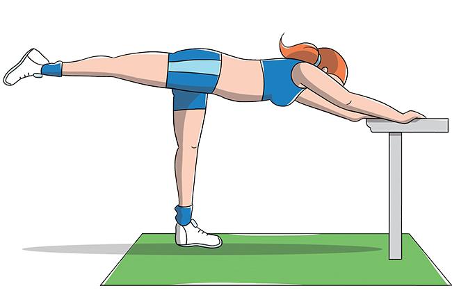 esercizi per interno coscia: piegamenti