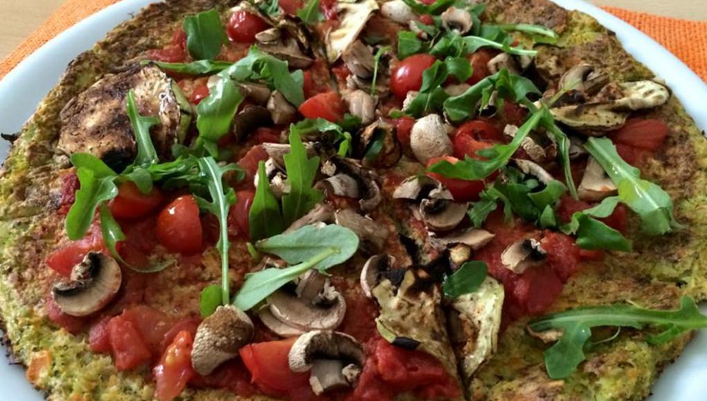 ricetta pizza con base senza farina