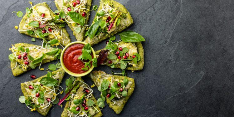 Pizza di broccoli