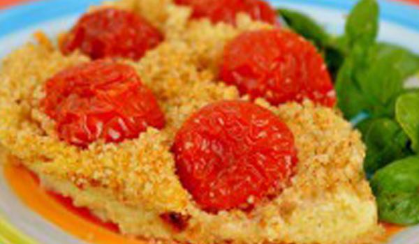 ricetta per purè al cavolfiore con pomodorini