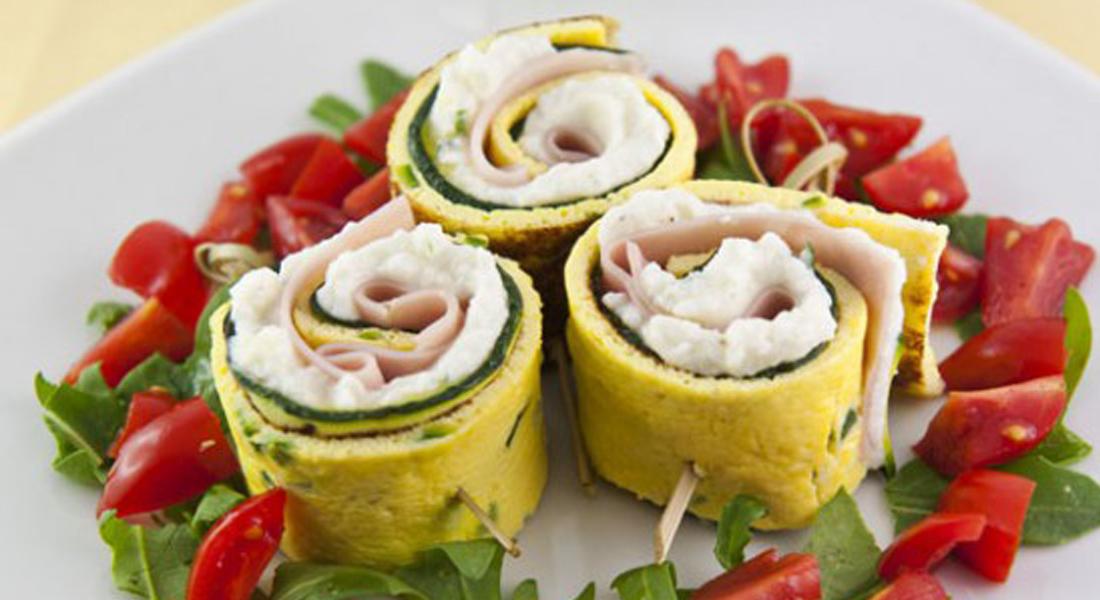la ricetta dei rotolini con le zucchine