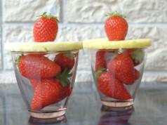 ricetta frullato di fragole e ananas