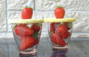 ricetta smoothie di fragole e ananas
