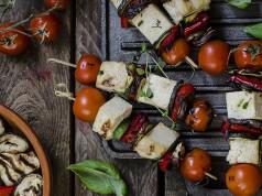 ricetta spiedini di verdure e tofu