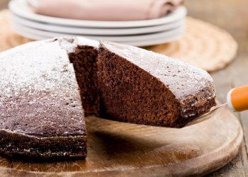 torta al cioccolata senza uova e latte