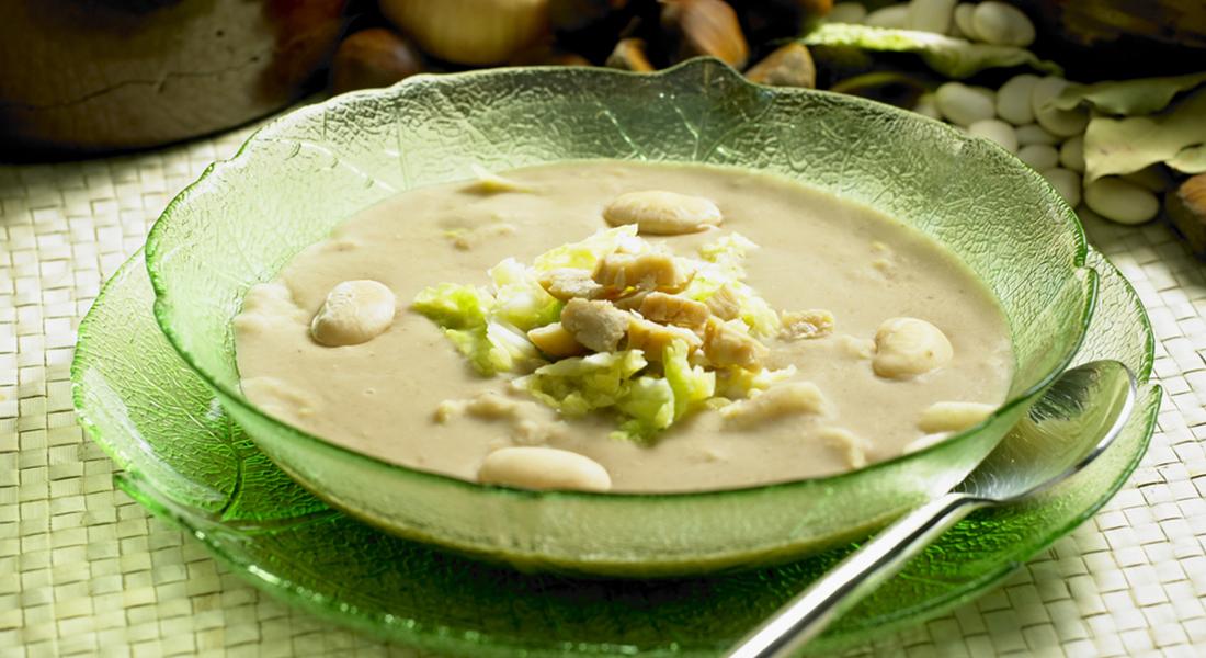 ricetta zuppa di cavolo verza e faglioli