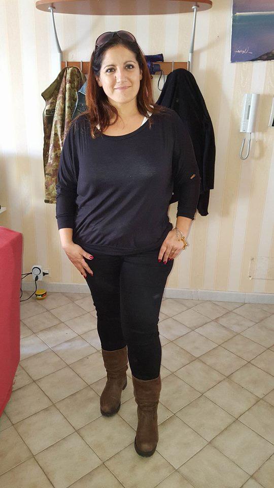 Gina Amanda dopo la dieta