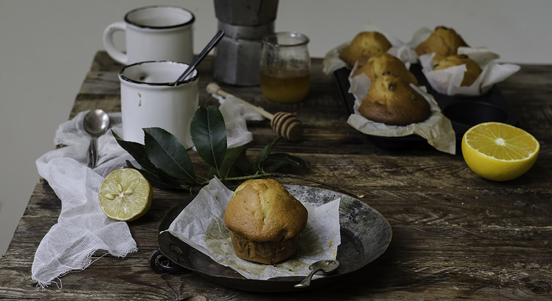 Muffin light all'uvetta