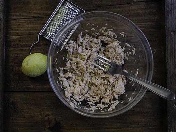 rillette di salmone: ricetta light