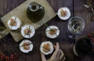 La ricetta delle cheesecake light al salmone