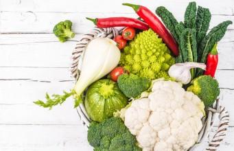 la verdura di dicembre da consumare