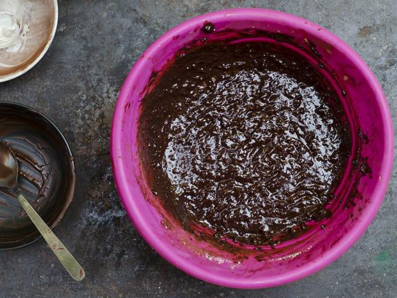 preparazione torta al cacao light
