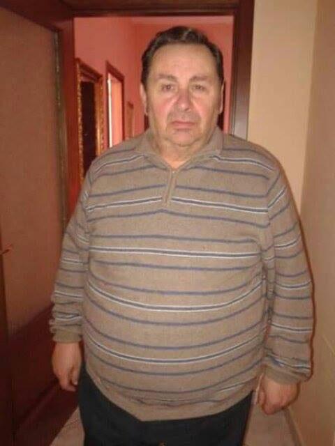 Angelo quando pesava più di 100 kg prima della dieta Melarossa