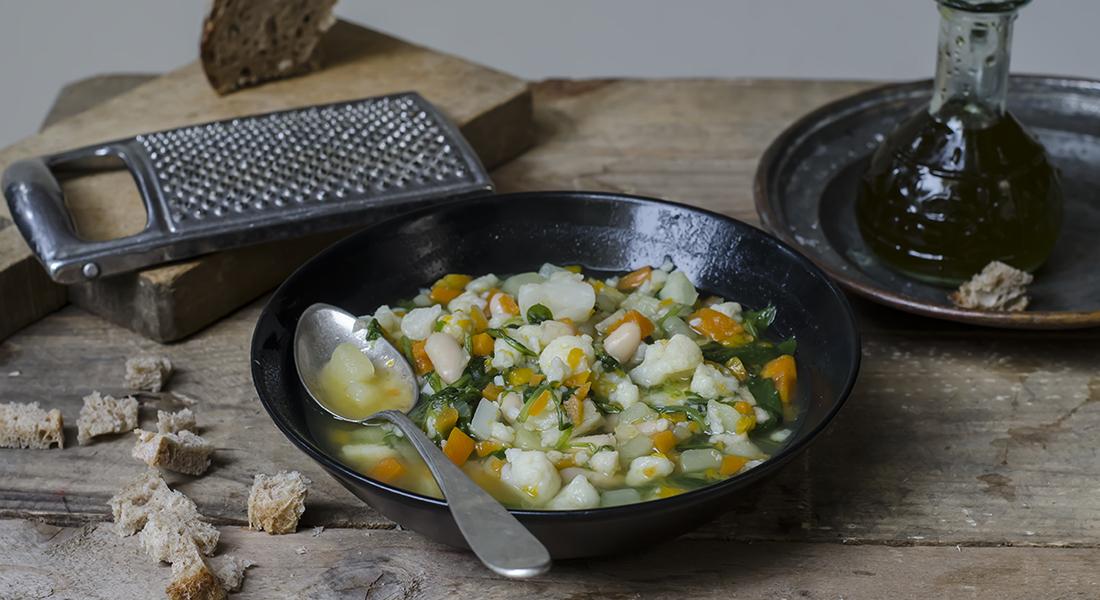 il minestrone di verdure invernale