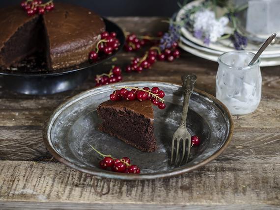 una buona torta light al cacao