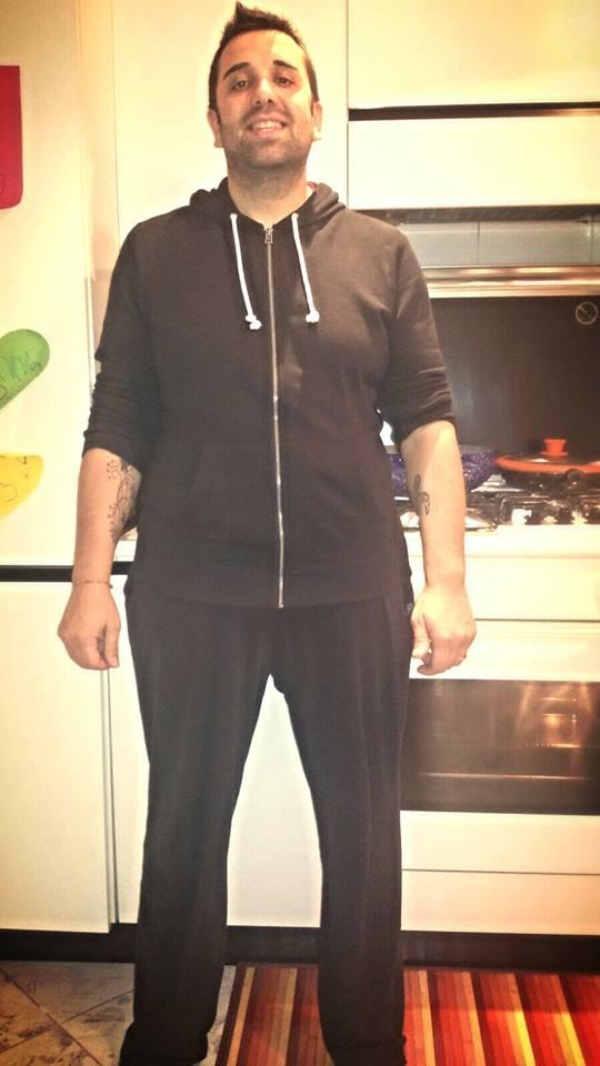 Mauro dopo la dieta