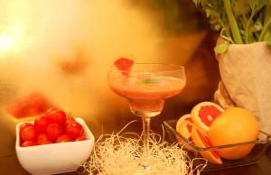 lo smoothie al pomodoro, pompelmo e sedano