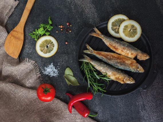 cibi ricchi di ferro: le sardine