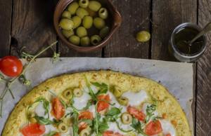 la ricetta della pizza con base di cavolfiore