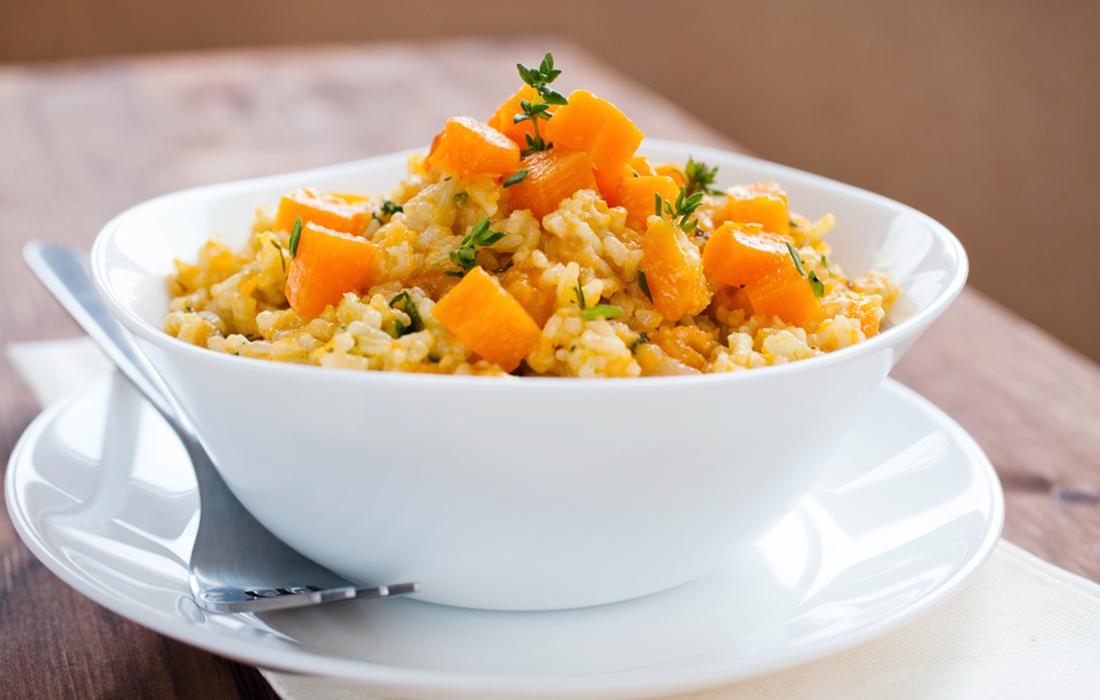 Risotto alla zucca ricette melarossa for Risotto ricette