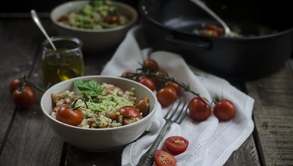 Insalata di orzo e zucchine ricette picnic