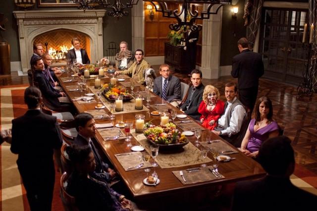Scena dal film A cena con un cretino
