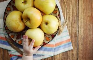 I benefici della mela per i bambini