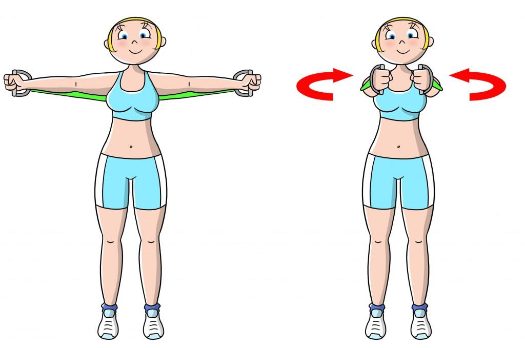 esercizi per rassodare il seno