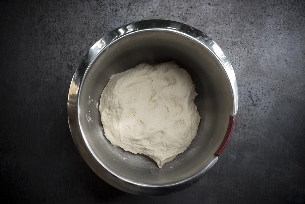 step 3 impasto panini mescolato