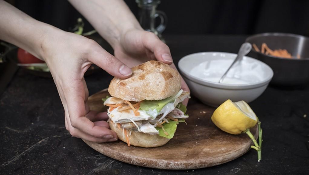 panino con pollo grigliato ricette picnic
