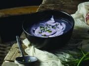 Ricetta Vellutata di cavolfiore viola e topinambur