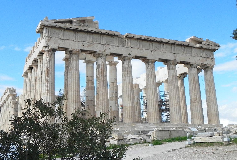 Il Partenone di Atene