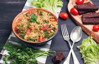 La ricetta del cous cous con pomodorini