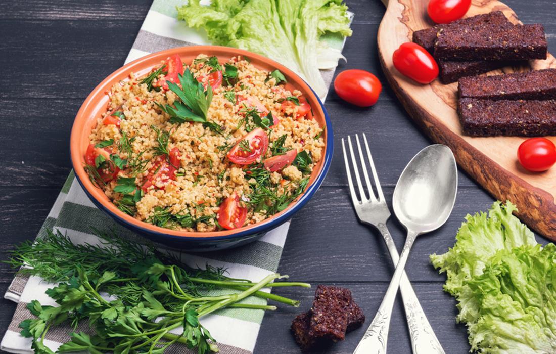 La ricetta del cous cous light con pomodorini