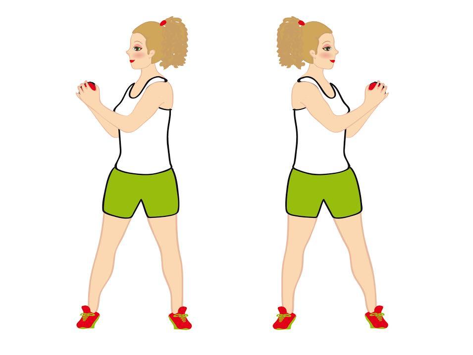 rotazione busto per smaltire ciccia schiena