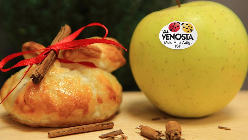 Fagottini di mela e carne