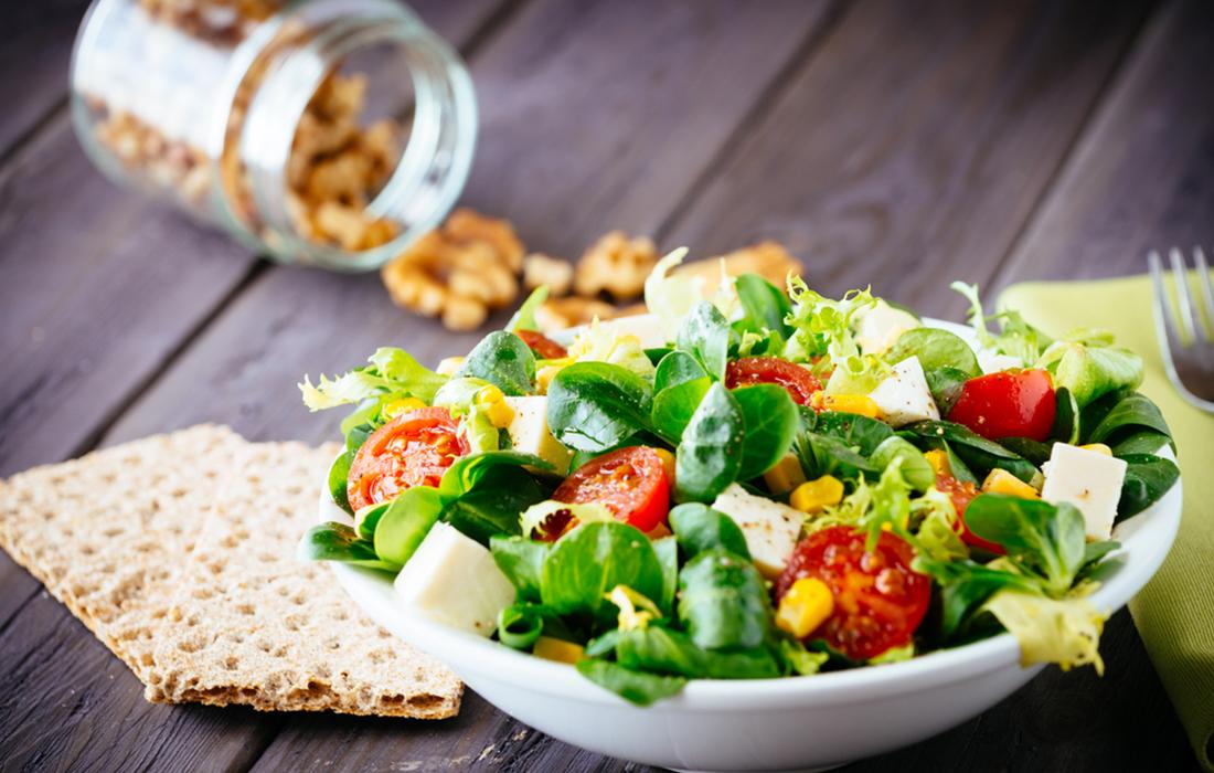 insalata bresaola e mozzarella