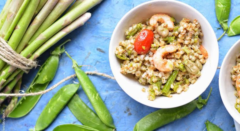 insalate di cereali - la ricetta per l'insalata di farro