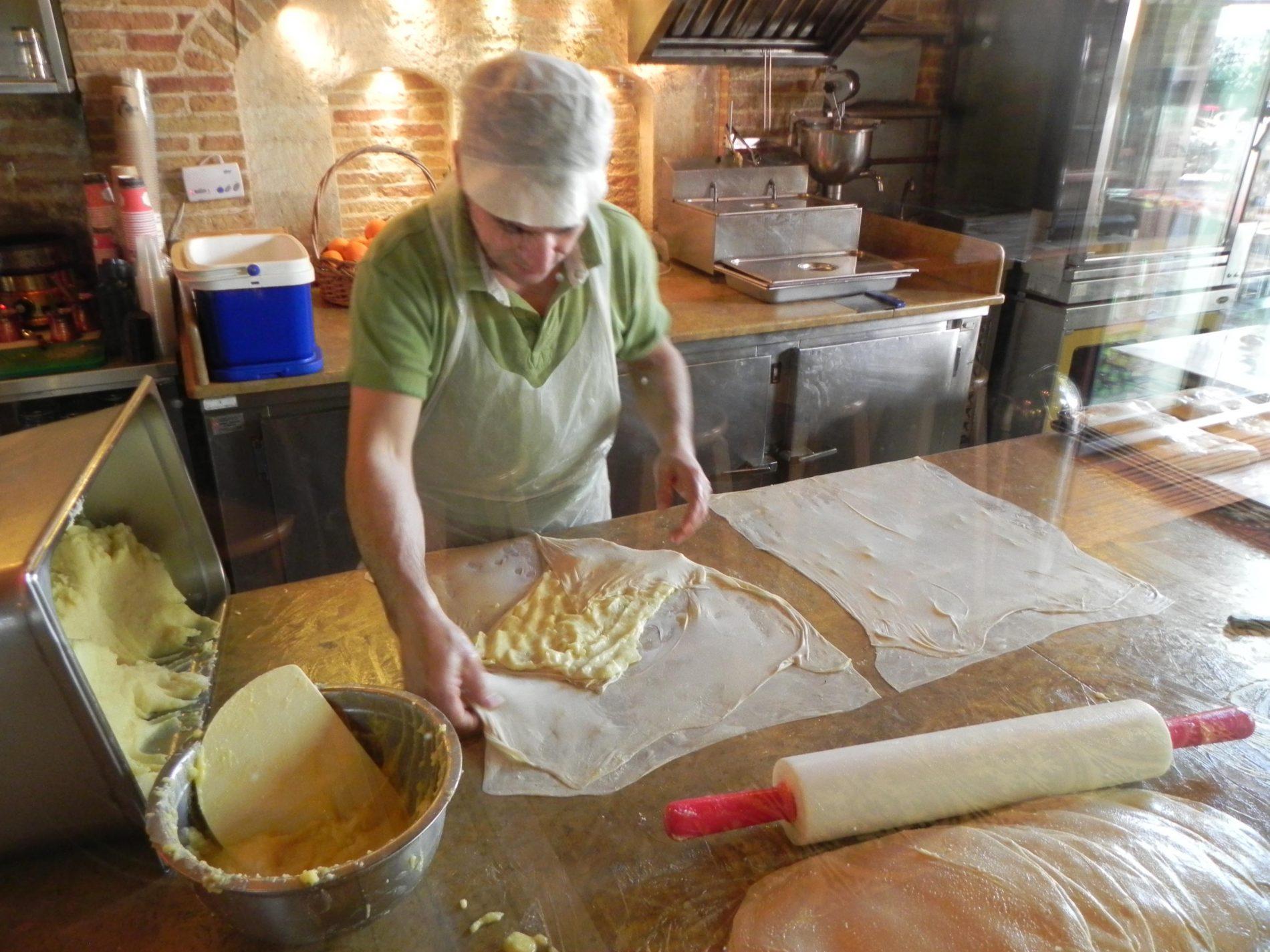 lavorazione della pita