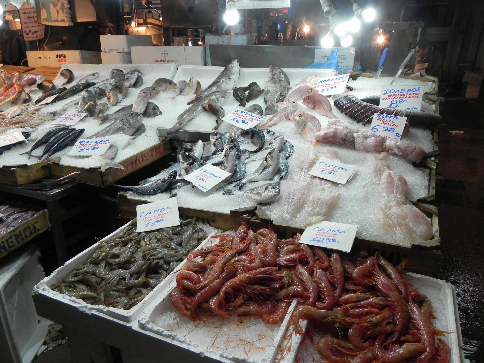 mercato centrale pesce