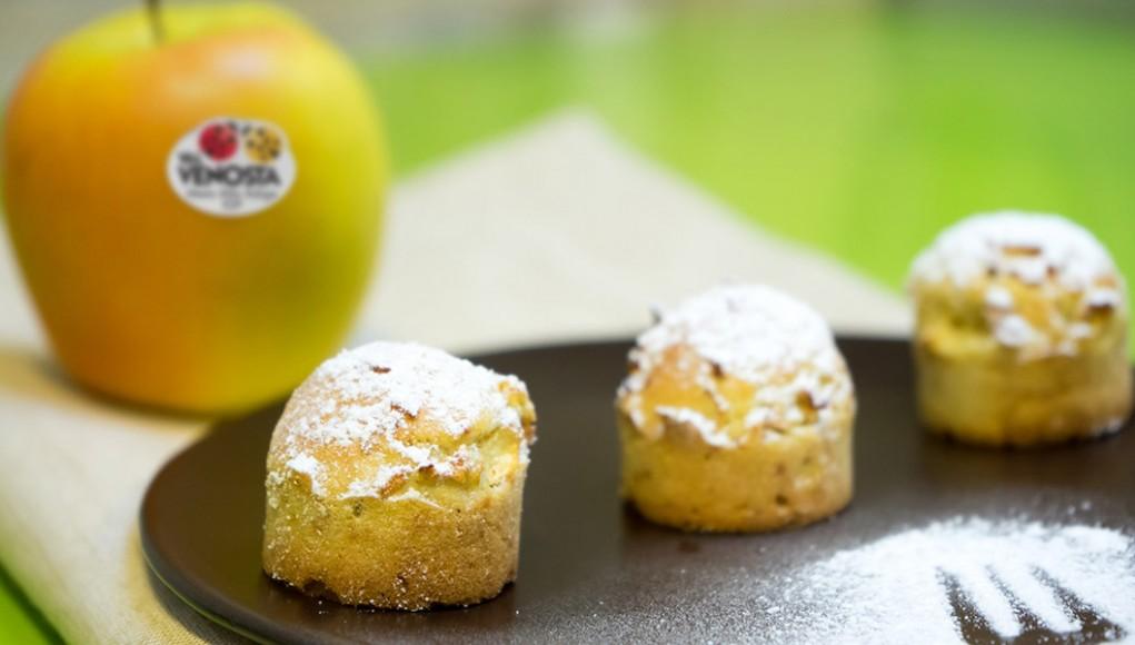 Mini muffin di mele con zenzero