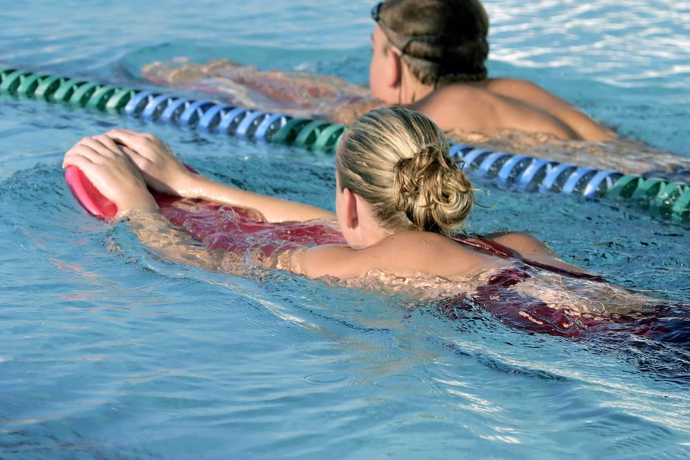 allenamento nuoto principianti
