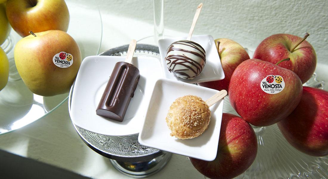Lollipops con le mele