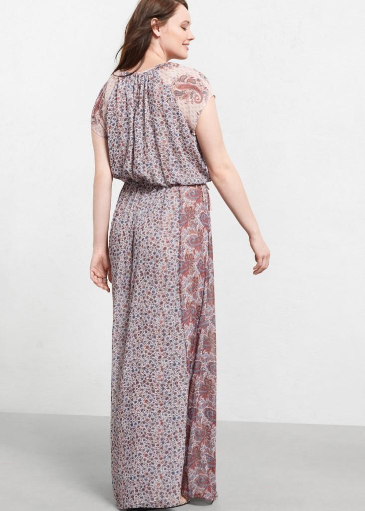 Vestito lungo Violeta by Mango rotolini schiena