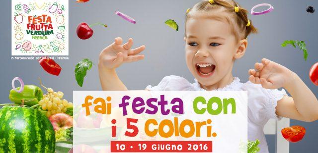 La Festa di frutta e verdura in Italia dal 10 al 19 giugno 2016