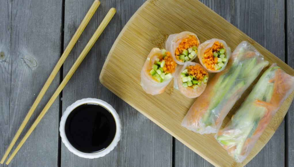 ricetta per celiaci involtini di granchio e verdure
