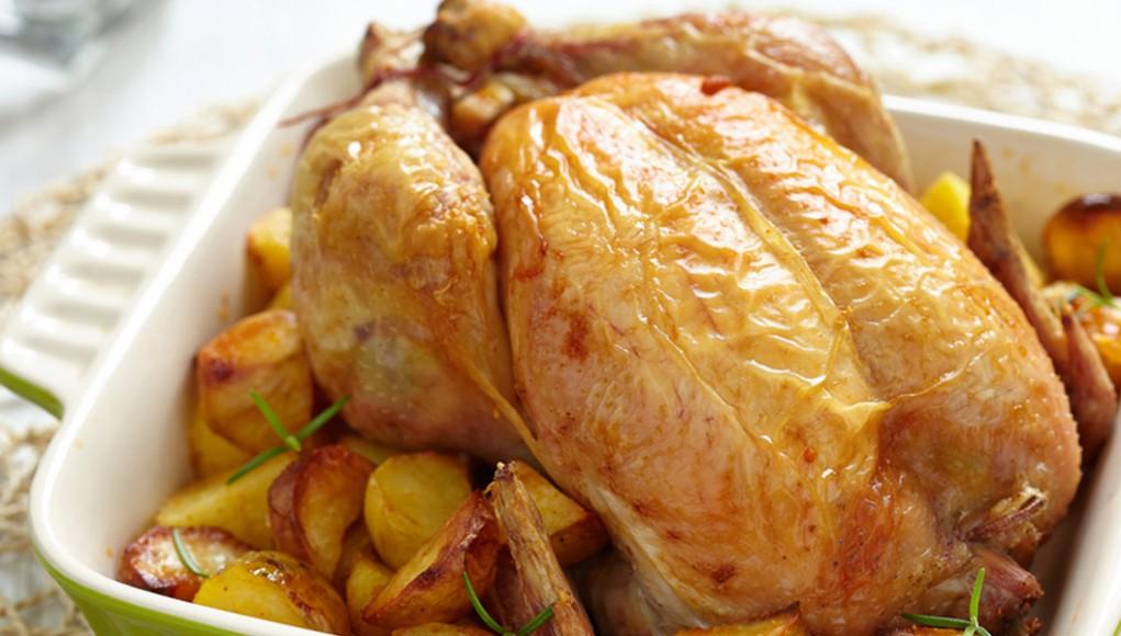 ricetta del pollo light al forno con le patate