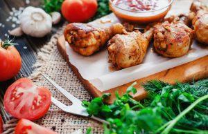 ricette pollo, idee facili. veloci e light