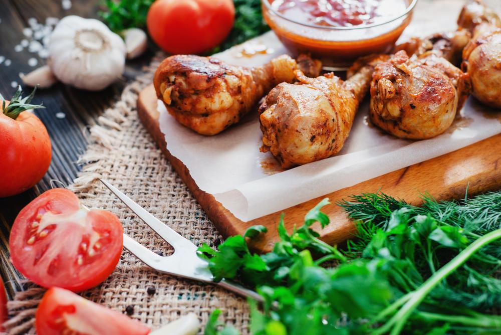 ricette di pollo, idee facili. veloci e light