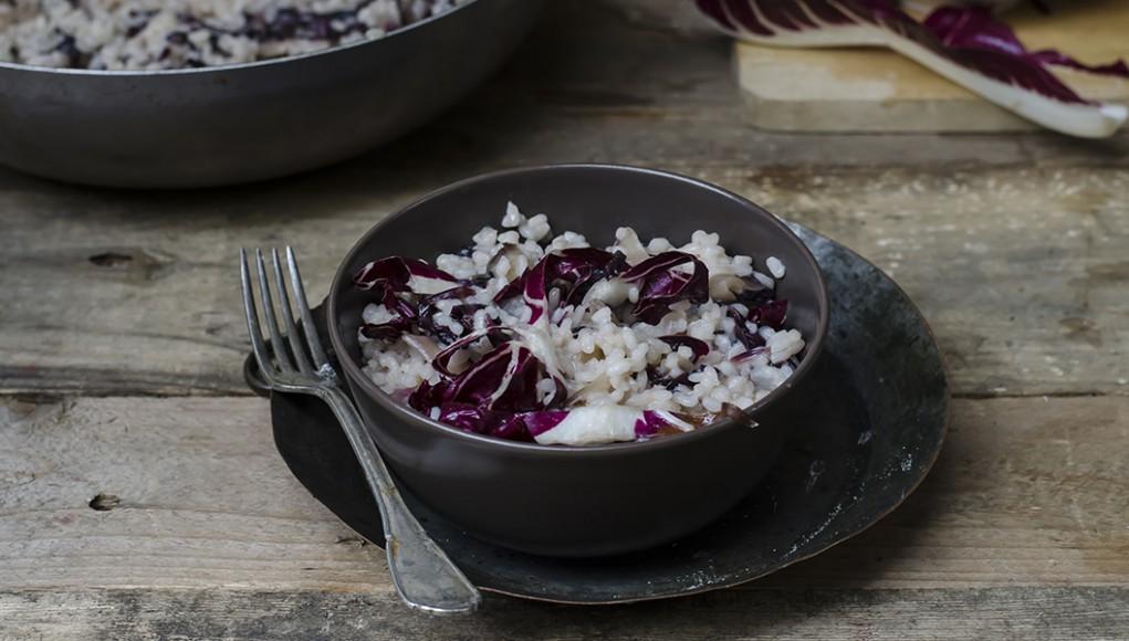 Come fare il risotto al radicchio
